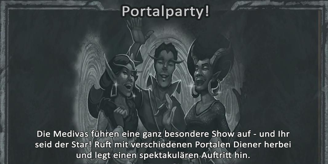 Kartenchaos Portalparty
