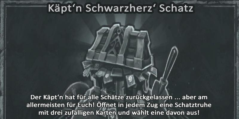 Kartenchaos Käpt'n Schwarzherz' Schatz