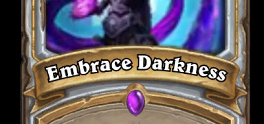 Embrace Darkness