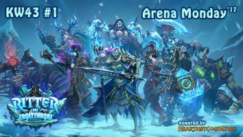 Arena Monday KW43 - 1 (16-9)