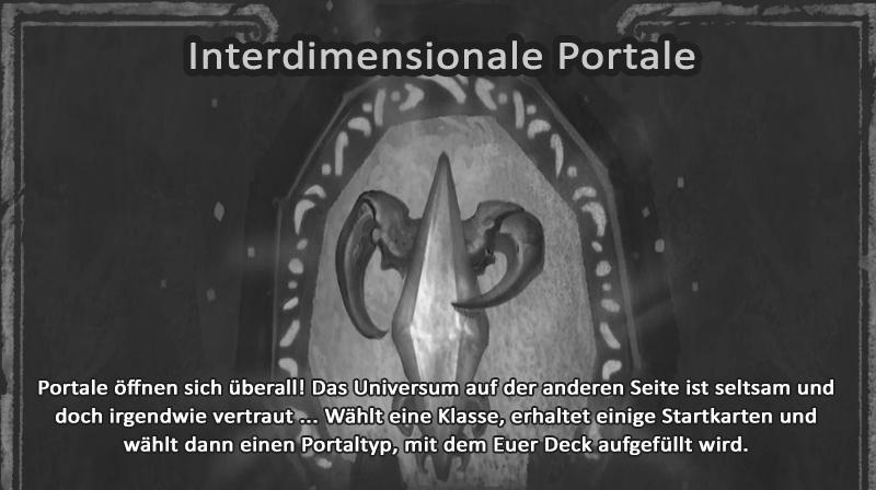 Kartenchaos interdimensionale portale